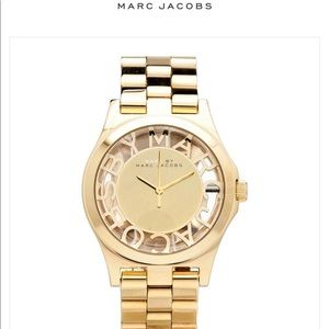 Marc by Marc Jacobs chunky gold watch